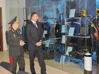 President  of Azerbaijan inaugurates Academy of Ministry of Emergency Situations (PHOTO)