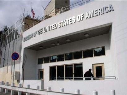 Turkey detains two men over shooting at U.S. embassy in Ankara