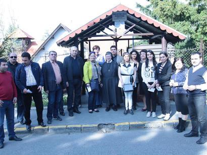 Azərbaycan nümayəndə heyəti Macarıstanın tanınmış QHT-ləri ilə görüşüb (FOTO)