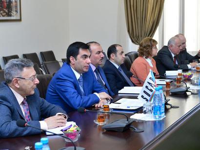 Bakı Ali Neft Məktəbində Avstriya nümayəndə heyəti ilə görüş keçirilib (FOTO)