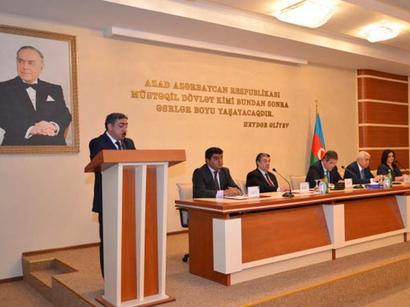 Qaradağ Rayon İcra Hakimiyyətinin ilin I rübündə rayonun sosial-iqtisadi inkişafının yekunlarına həsr olunan hesabat yığıncağı keçirildi (FOTO)
