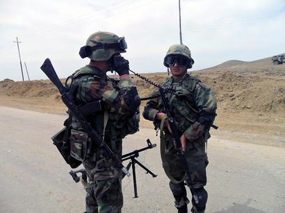 NATO observers highly praise preparation of Azerbaijani military servicemen (PHOTO)