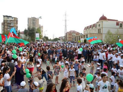 """""""Təmiz Binəqədi"""" layihəsinə start verildi (FOTO)"""