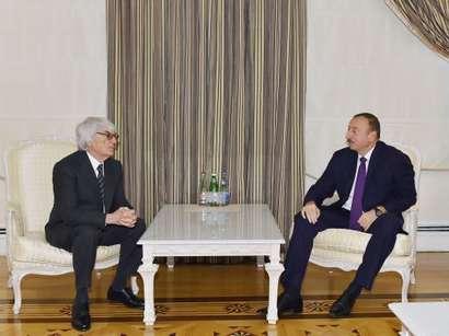 Президент Азербайджана принял руководителя Formula-1 (ФОТО)