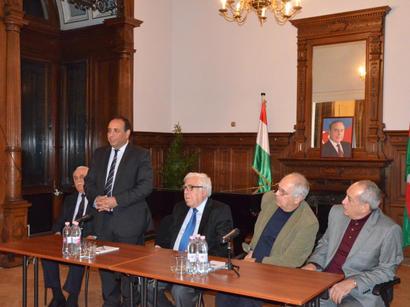 В Венгрии прошла презентация фильма о Мирзе Фатали Ахундзаде (ФОТО)