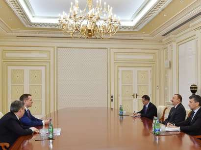 Azerbaijani president receives CEO of BBC Global News