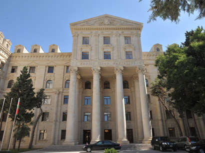 Azerbaijani Foreign Ministry expresses protest to UN